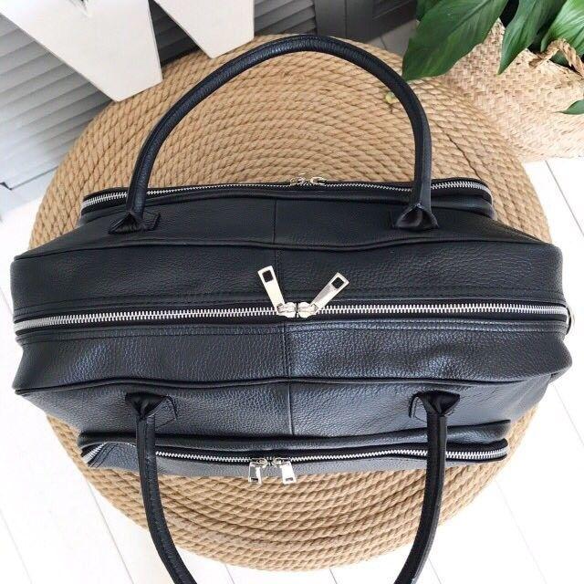 Магазин сумок Vezze Кожаная дорожная сумка С00227 - фото 2