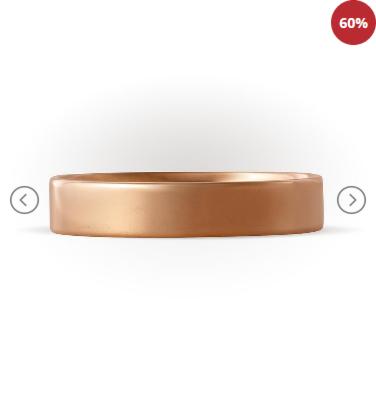 Ювелирный салон Топаз Обручальное кольцо Т100011469 - фото 1