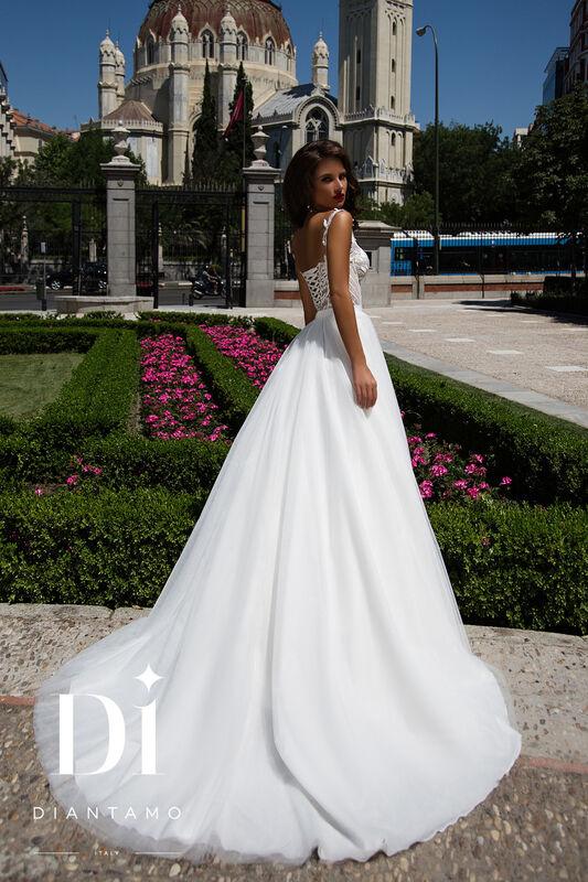 Свадебное платье напрокат Diantamo Платье свадебное Riccarda - фото 3