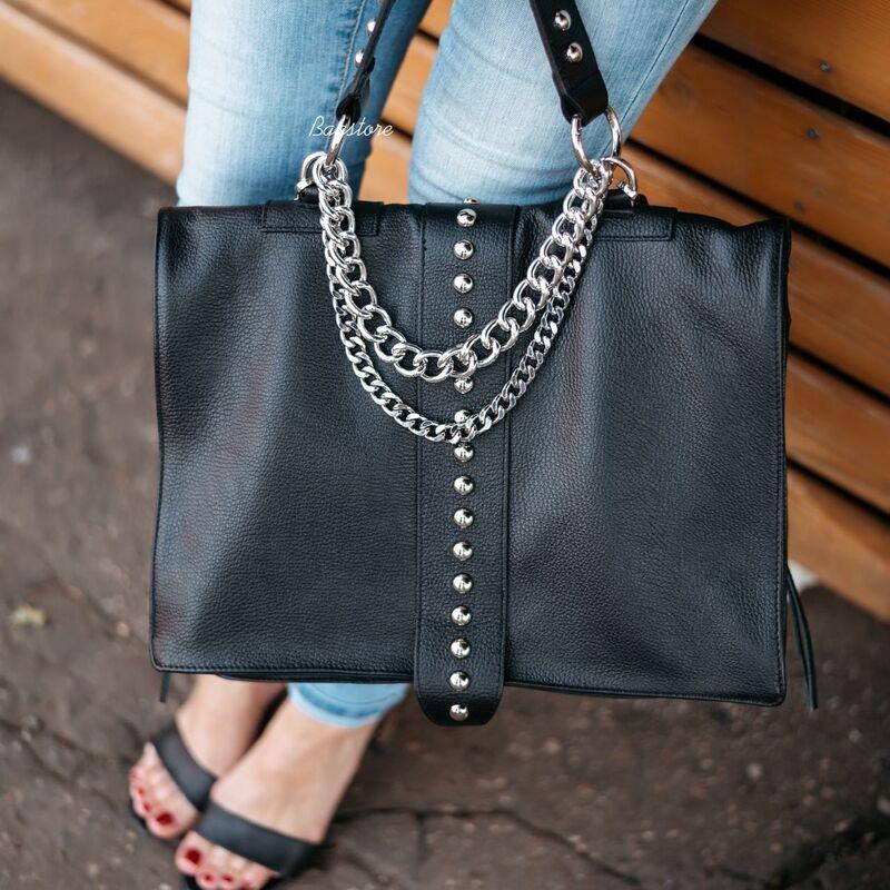 Магазин сумок Vezze Кожаная женская сумка C00530 - фото 3