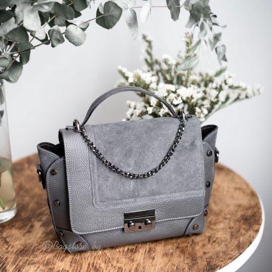 Магазин сумок Vezze Кожаная женская сумка C00454 - фото 2