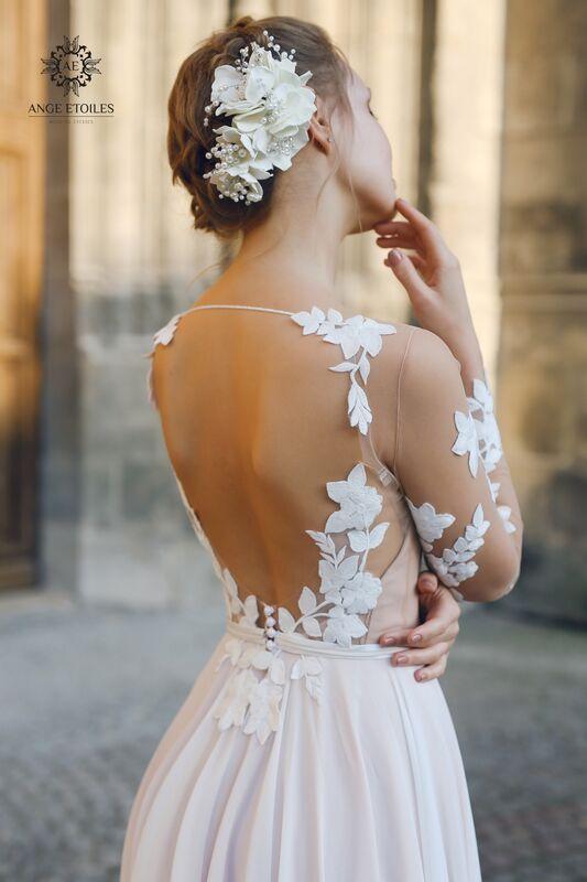 Свадебное платье напрокат Ange Etoiles Платье свадебное AEriality Collection  Filisi - фото 2