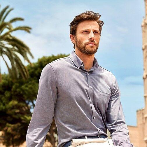 Кофта, рубашка, футболка мужская Calamar Рубашка мужская - фото 1