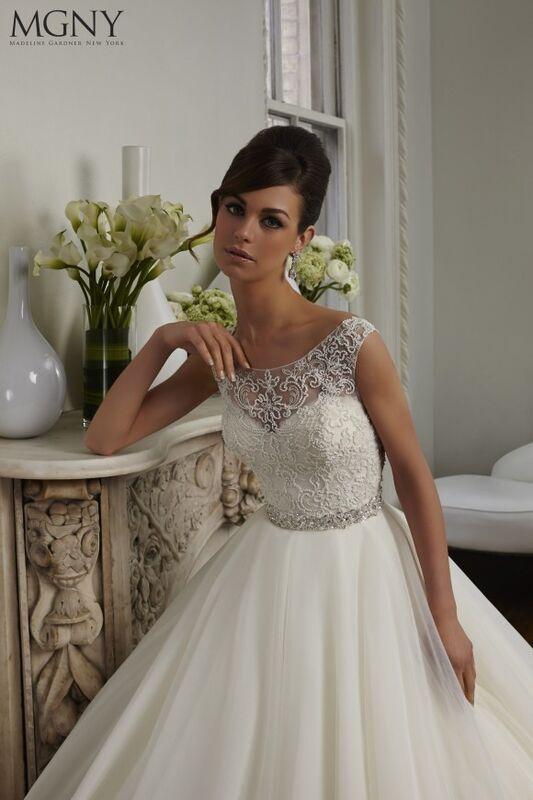 Свадебный салон Madeline Gardner New York Свадебное платье Cara 51029 - фото 3