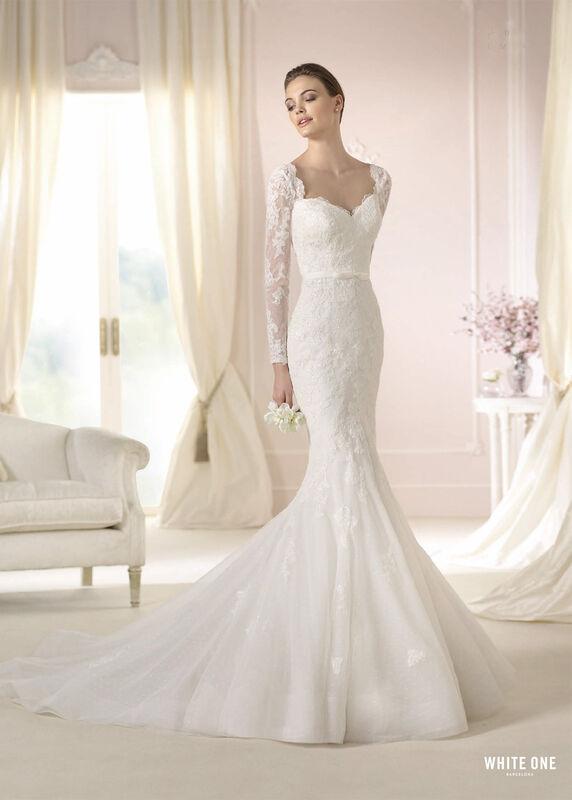 Свадебное платье напрокат White One (Pronovias) Платье свадебное «Damasia» - фото 1