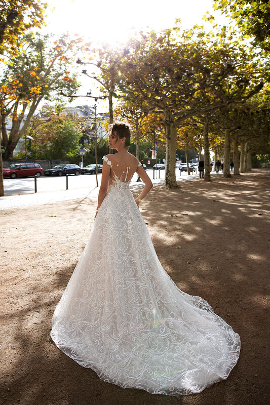 Свадебный салон Vanilla room Свадебное платье Джессика - фото 4