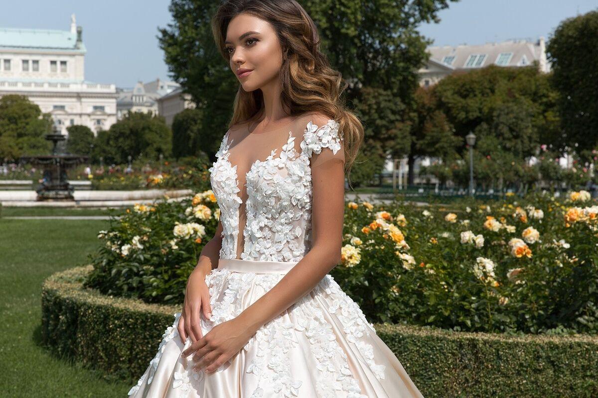 Свадебное платье напрокат Crystal Orianna - фото 3