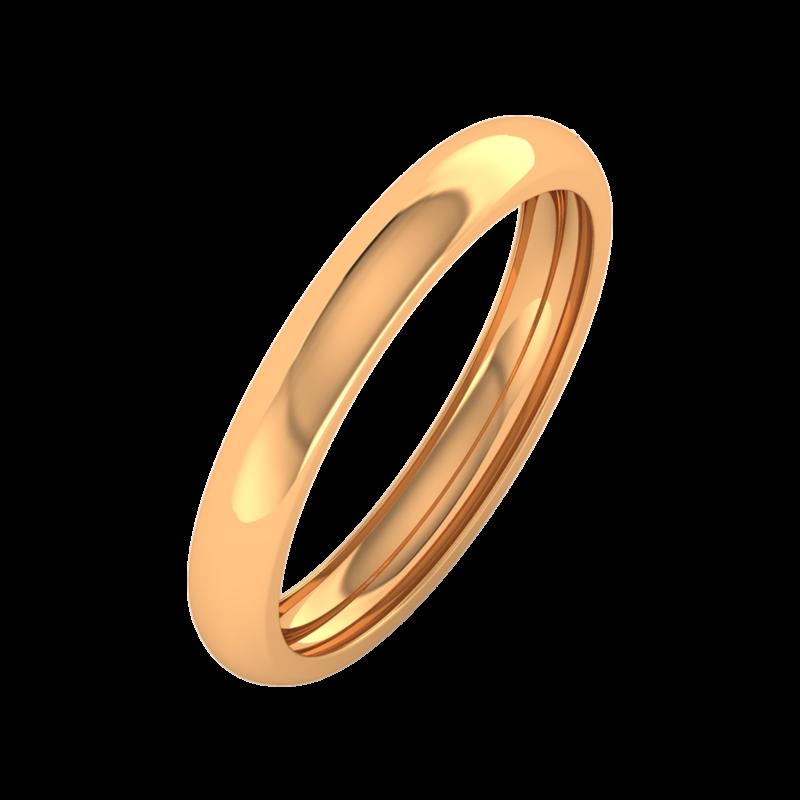 Ювелирный салон ZORKA Обручальное кольцо 143048 - фото 1