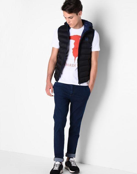 Кофта, рубашка, футболка мужская Trussardi Футболка мужская 52T46 _510069 - фото 5