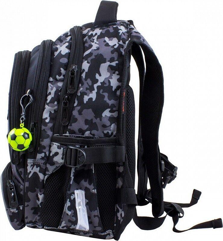 Магазин сумок Winner Рюкзак школьный черный 921 - фото 2