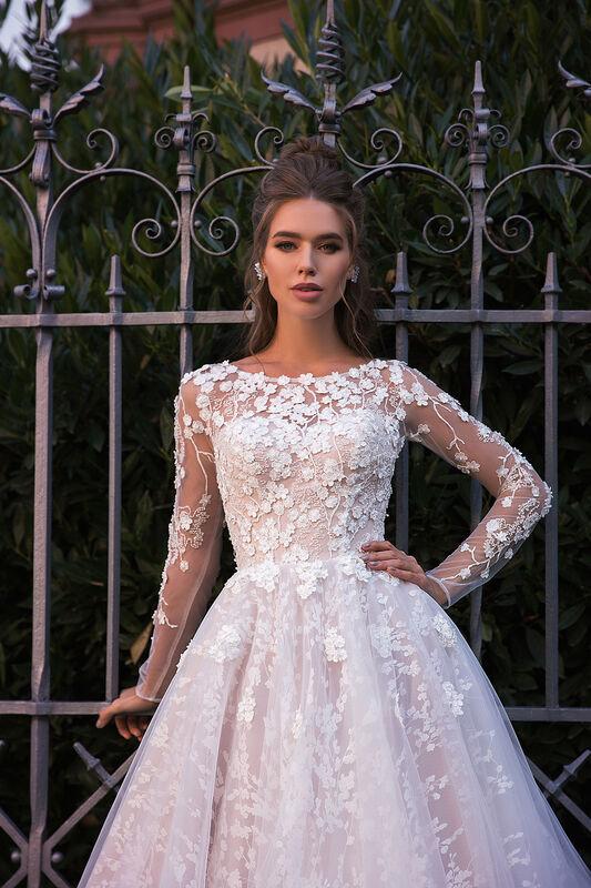 Свадебное платье напрокат Vanilla room Платье свадебное Ева - фото 3