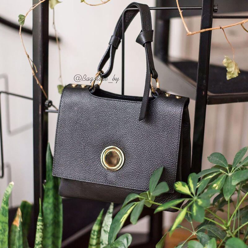 Магазин сумок Vezze Кожаная женская сумка C00443 - фото 2