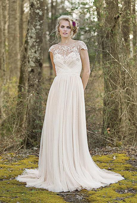 Свадебное платье напрокат Lillian West Свадебное платье 6468 - фото 3