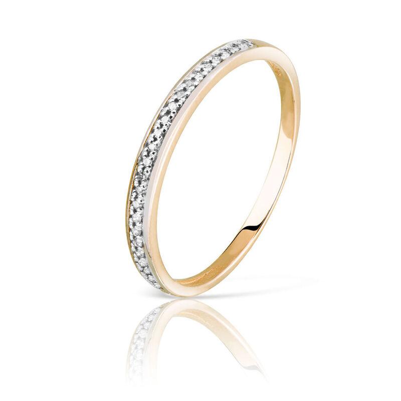 Ювелирный салон Jeweller Karat Кольцо золотое с бриллиантами арт. 1214516 - фото 1