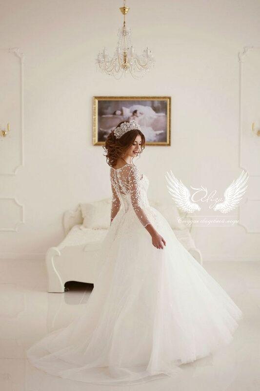 Свадебное платье напрокат ALIZA Свадебное платье «Konfetti» - фото 2