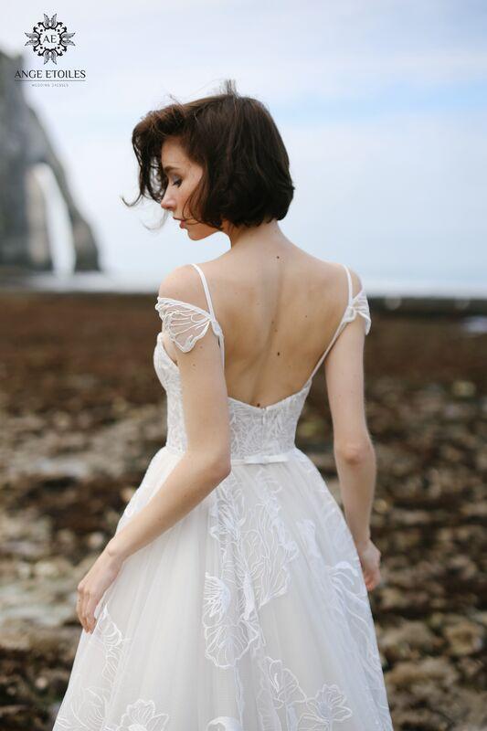 Свадебное платье напрокат Ange Etoiles Платье свадебное AEriality Collection  Larein - фото 3