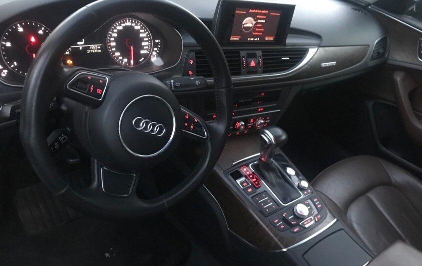Прокат авто Audi A6  2011 г.в. - фото 2