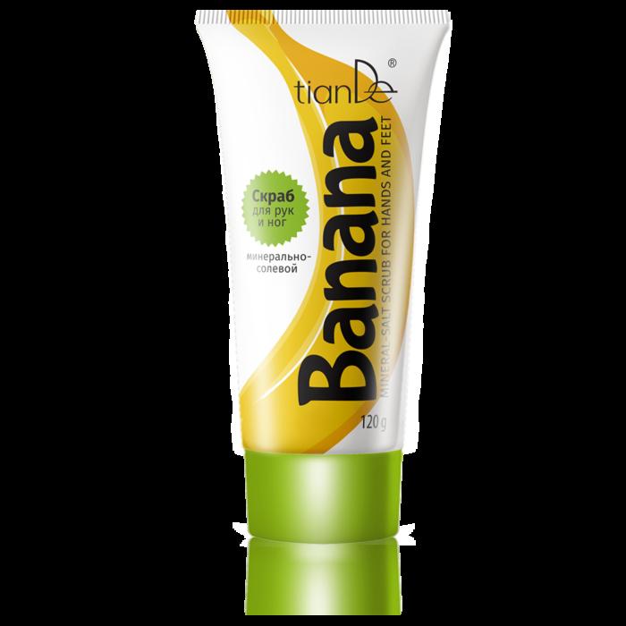Уход за телом tianDe Минерально-солевой скраб для рук и ног «Банан» - фото 1