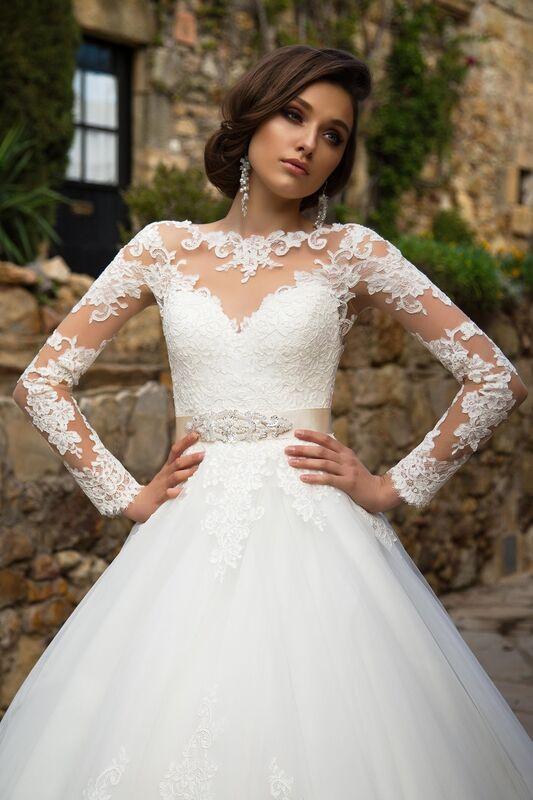 Свадебный салон Bonjour Galerie Свадебное платье «Silvana» из коллекции LA SENSUALITE - фото 3