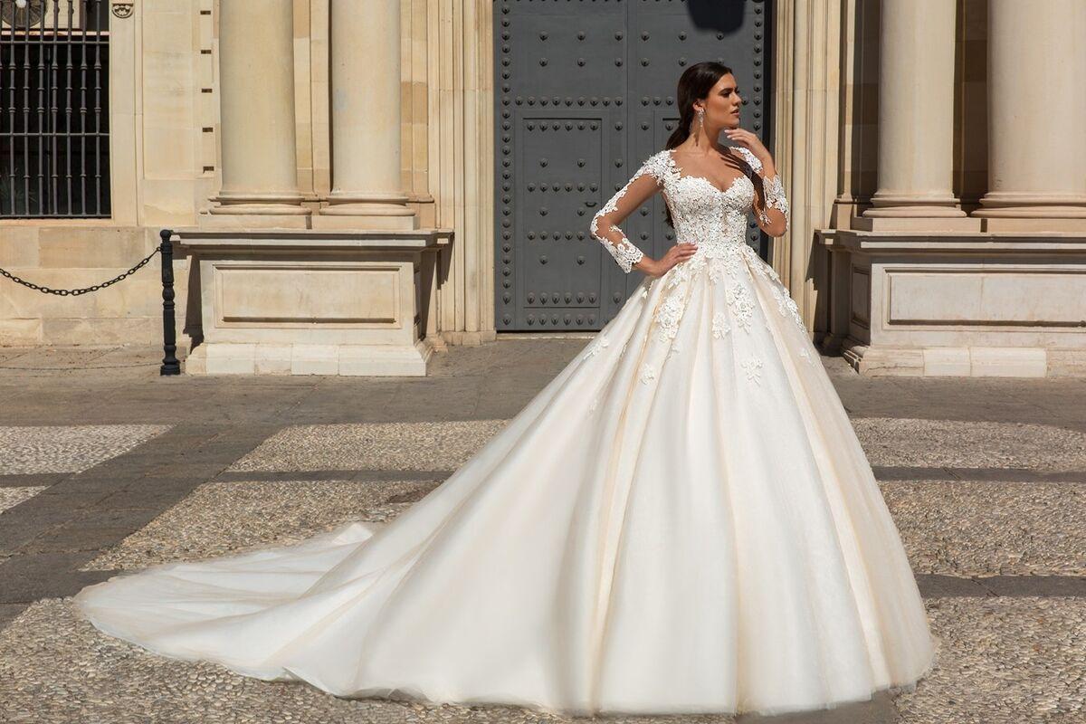 Свадебное платье напрокат Crystal Свадебное платье Alania - фото 1