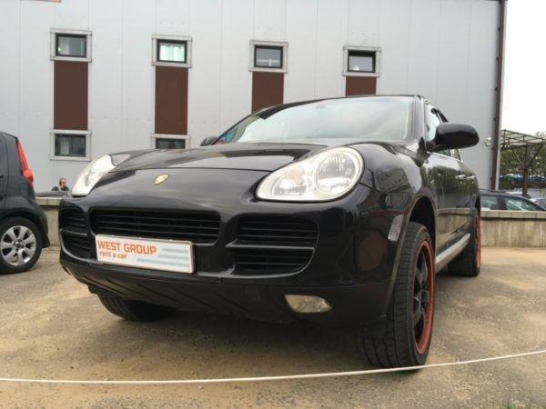 Аренда авто Porsche Cayenne черный - фото 1