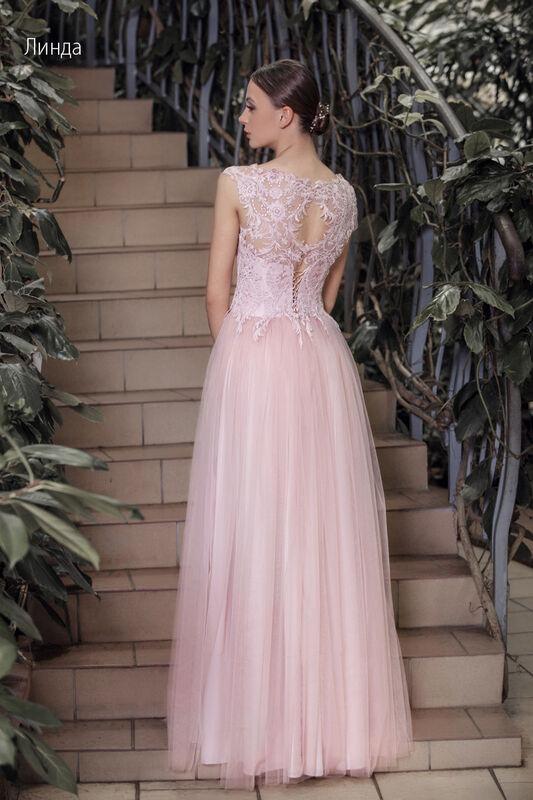 Свадебное платье напрокат Vintage Платье свадебное «Линда» - фото 2