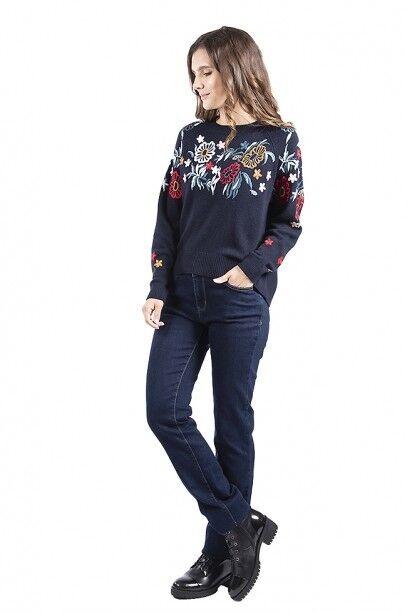 Кофта, блузка, футболка женская SAVAGE Джемпер женский арт. 910737 - фото 3