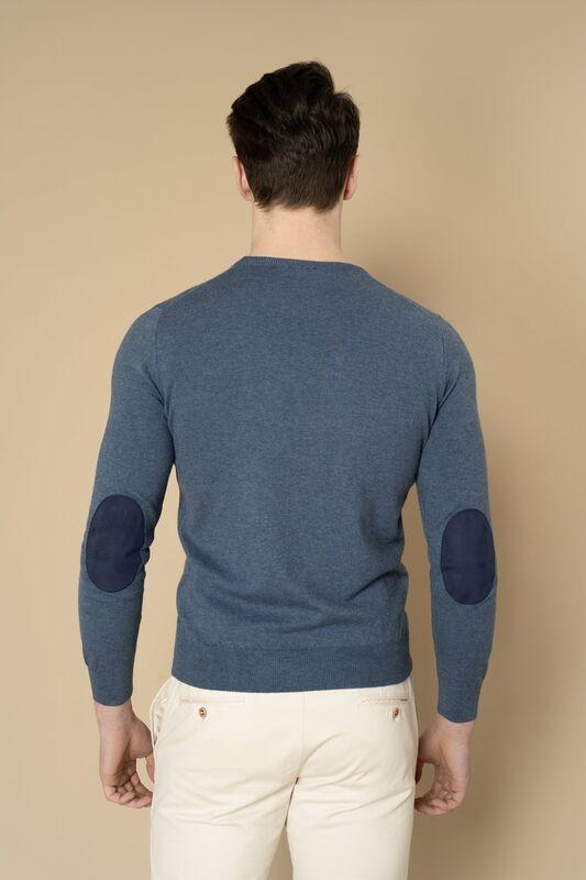 Кофта, рубашка, футболка мужская Etelier Джемпер мужской  tony montana T2002 - фото 3