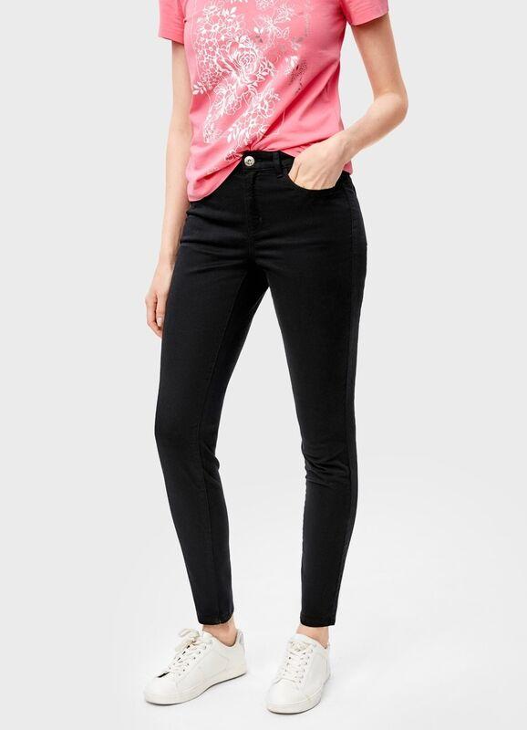 Брюки женские O'stin Узкиe брюки «5 карманов» LP6T31-99 - фото 1