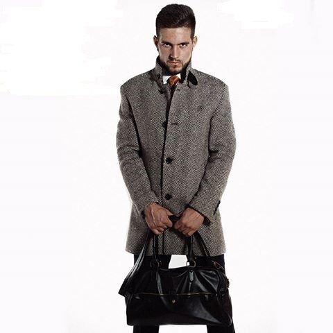 Верхняя одежда мужская Sezzar Пальто мужское 1 - фото 1