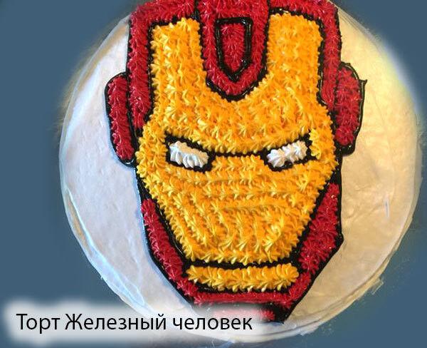 Торт Tortas Торт «Железный человек» - фото 1