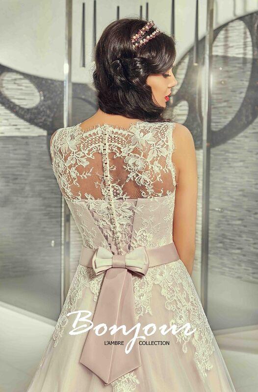 Свадебный салон Bonjour Galerie Свадебное платье «Ornella» из коллекции LAMBRE - фото 3