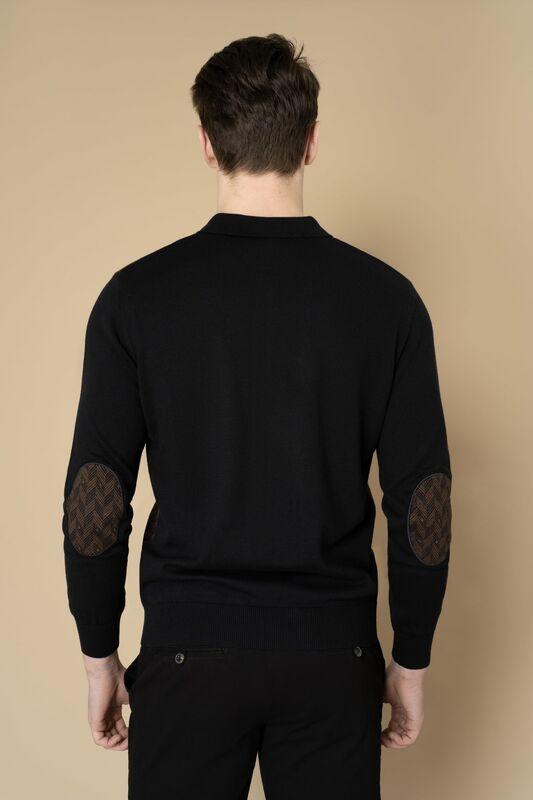 Кофта, рубашка, футболка мужская Etelier Джемпер мужской  tony montana 211391 - фото 3