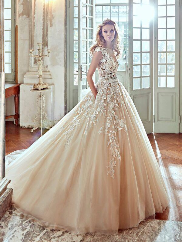 Свадебное платье напрокат Nicole Платье свадебное Elba - фото 1