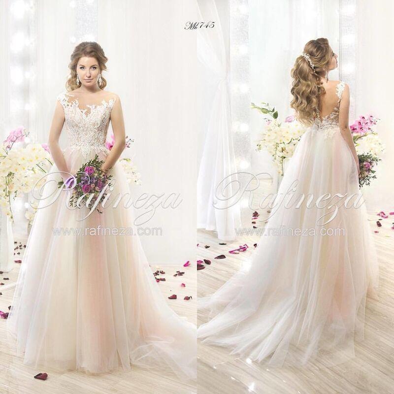 Свадебное платье напрокат Rafineza Свадебное платье Mishel - фото 1