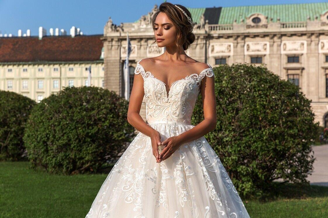 Свадебный салон Crystal Свадебное платье Steffani - фото 2