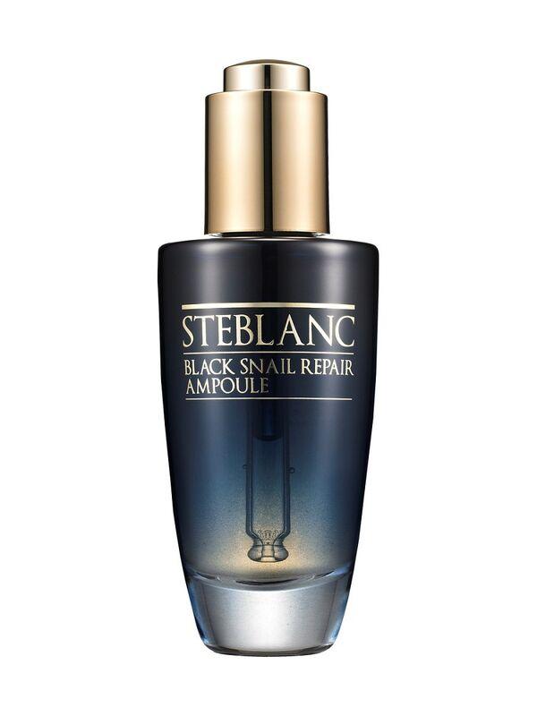 Уход за лицом Steblanc Сыворотка для лица с муцином Чёрной улитки (80%) Black Snail Repair Ampoule 50 мл - фото 1