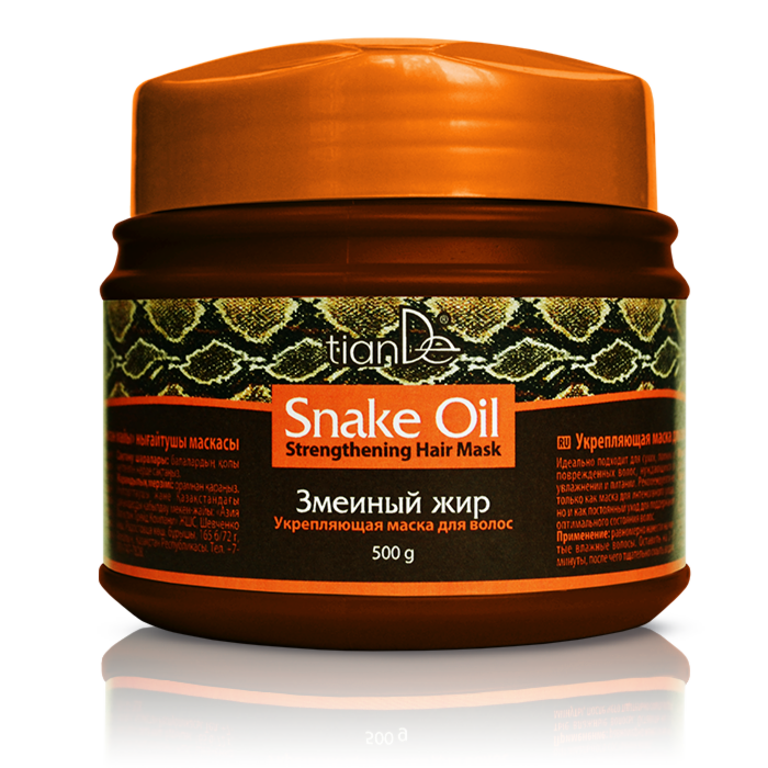 Уход за волосами tianDe Укрепляющая маска для волос «Змеиный жир» - фото 1