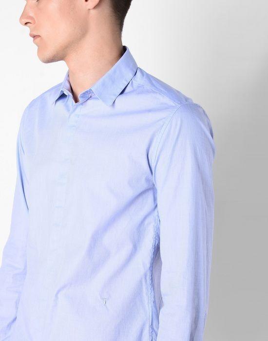 Кофта, рубашка, футболка мужская Trussardi Рубашка мужская 52C37 _510069 - фото 4