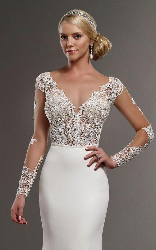 Свадебное платье напрокат Essense of Australia Платье свадебное Blake Sanja - фото 4