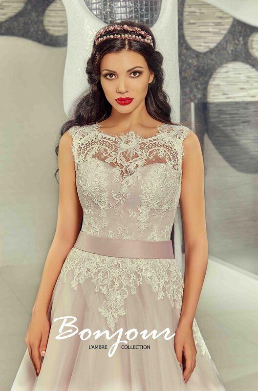 Свадебный салон Bonjour Galerie Свадебное платье «Ornella» из коллекции LAMBRE - фото 4
