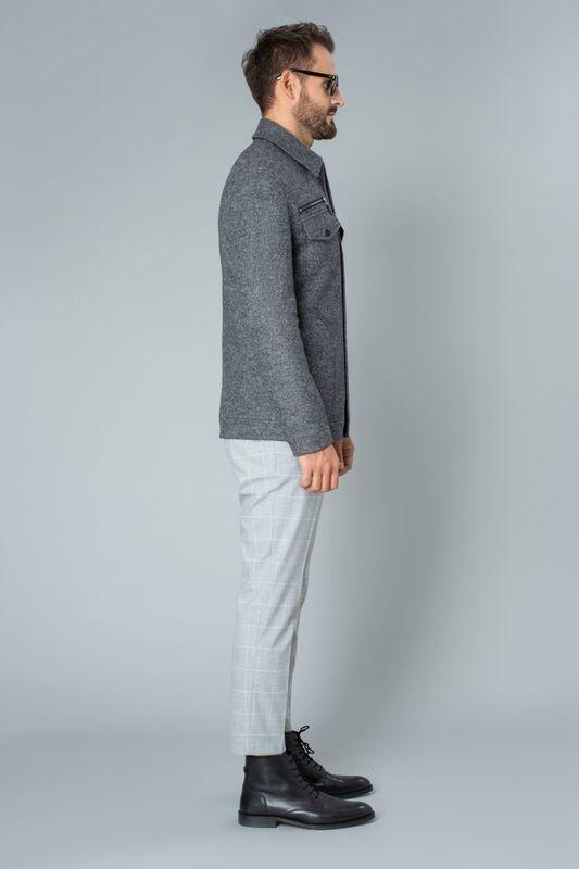 Верхняя одежда мужская Etelier Пальто мужское демисезонное 1М-9128-1 - фото 3