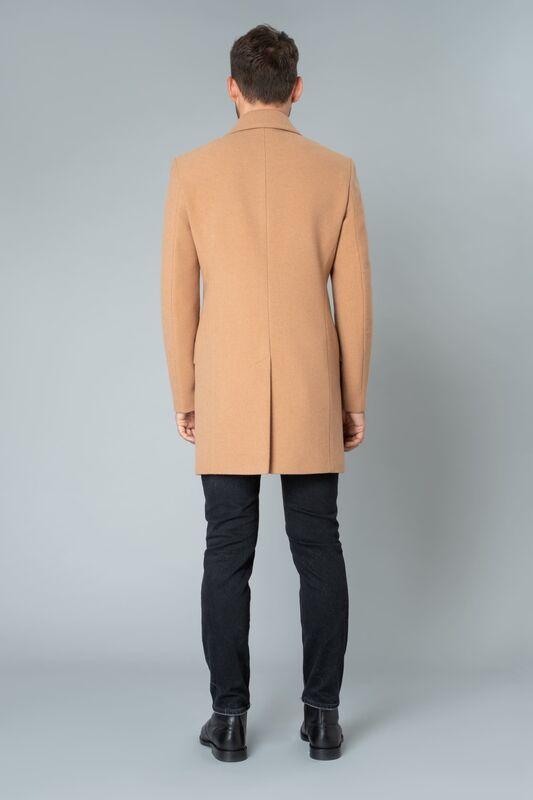 Верхняя одежда мужская Etelier Пальто мужское демисезонное 1М-9130-1 - фото 3