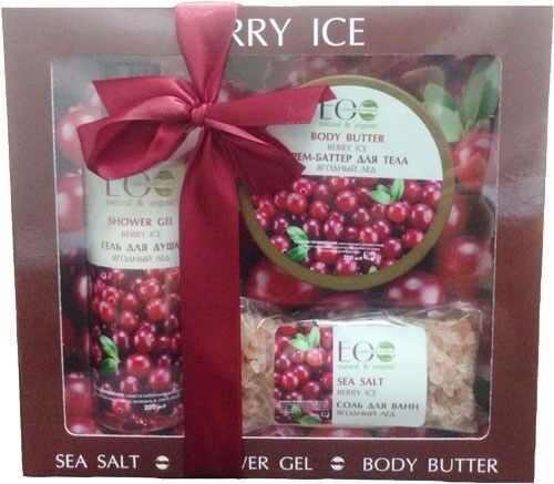 Подарок на Новый год Ecolab Подарочный набор «Berry Ice (Ягодный лед)», 758 гр - фото 1