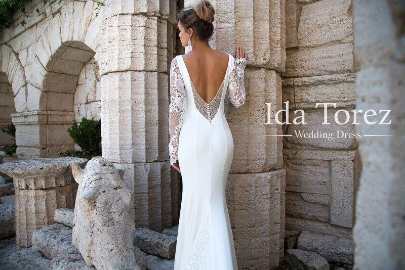Свадебное платье напрокат Ida Torez Платье свадебное Rosie - фото 3