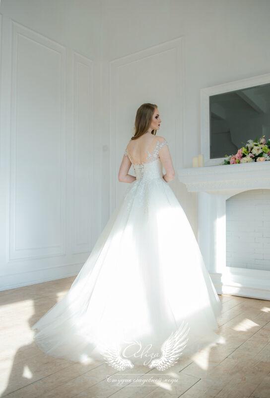 Свадебное платье напрокат ALIZA Свадебное платье Leila - фото 2