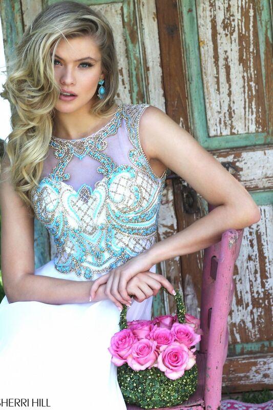 Свадебное платье напрокат Sherri Hill Платье свадебное 50160 - фото 2