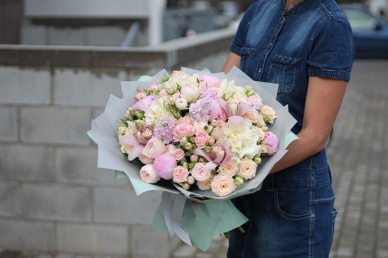 Магазин цветов Cvetok.by Букет «Счастье» - фото 1