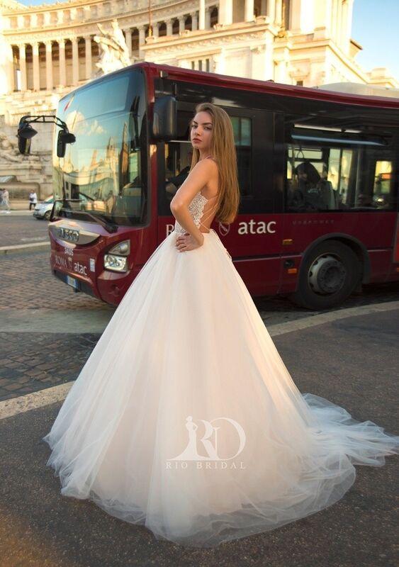 Свадебный салон Rafineza Свадебное платье Ingrit - фото 2