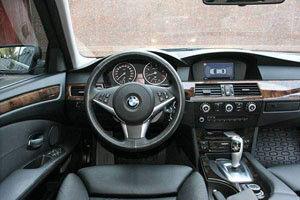 Аренда авто BMW 5 E60 2011 года - фото 3